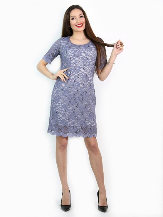 Festliches Kleid in Helles Lila