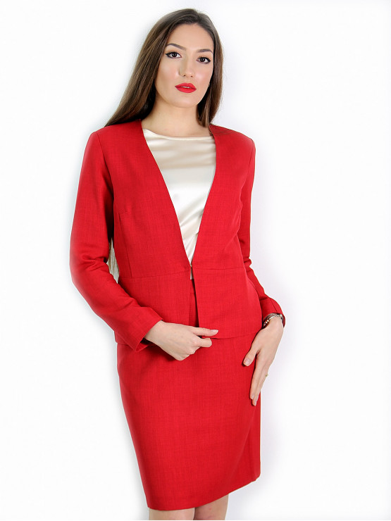 Womens red jacket