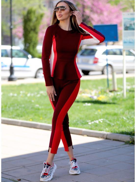 Sporty and elegant pants - Wave leggings